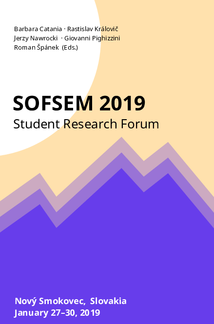 SOFSEM 2019